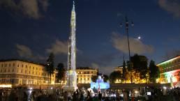 A new light in Piazza del Popolo